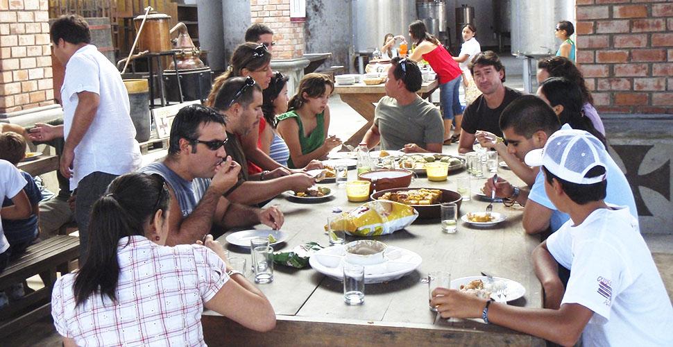 Pisco Gran Cruz-2014-Servicios-Almuerzo