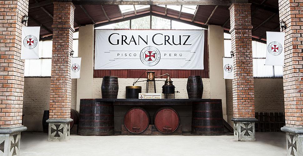 Pisco Gran Cruz-2014-Historia